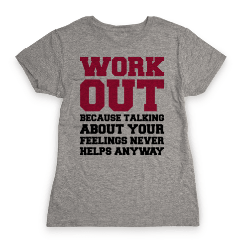 Work Out Womens T-Shirt