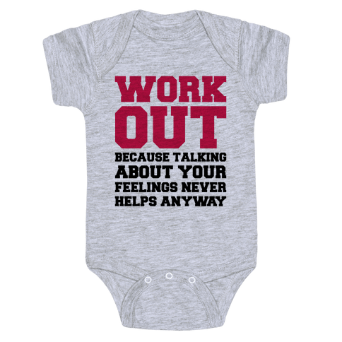 Work Out Baby Onesy