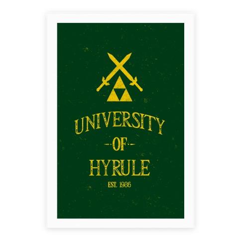 University Of Hyrule Poster