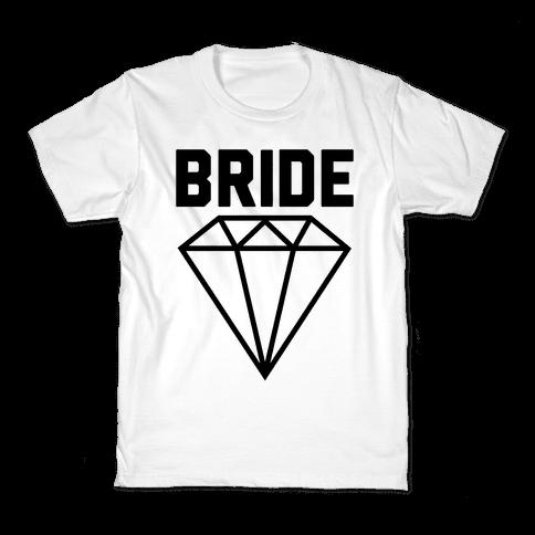 Bride (Flawless Diamond) Kids T-Shirt