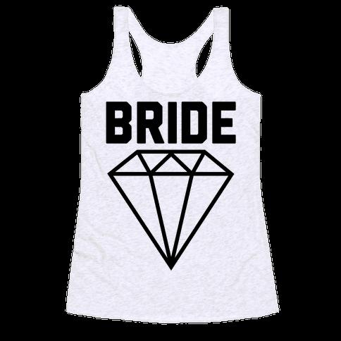 Bride (Flawless Diamond) Racerback Tank Top