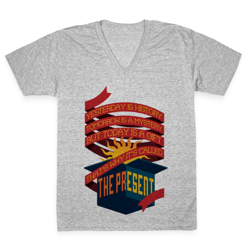 The Present V-Neck Tee Shirt