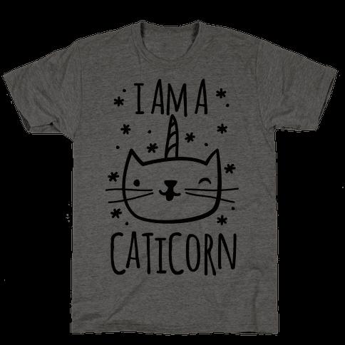 I Am A Caticorn Mens T-Shirt