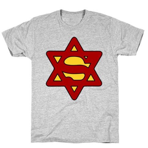 Super Jewish Man T-Shirt