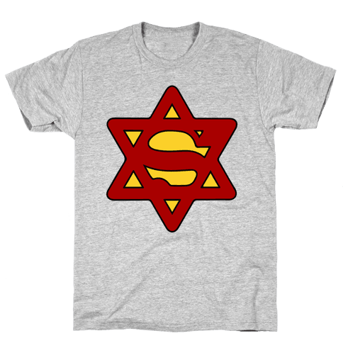 Super Jewish Man Mens T-Shirt
