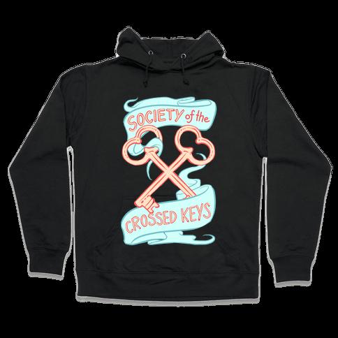 Society of the Crossed Keys Hooded Sweatshirt