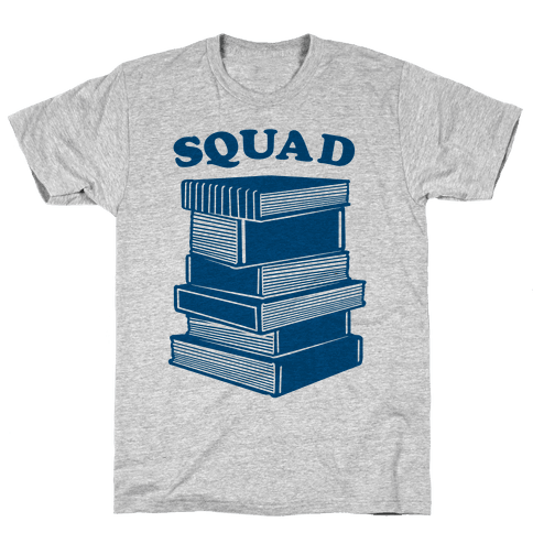 Book Squad Mens T-Shirt