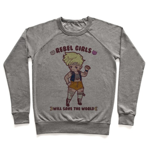 Rebel Girls Will Save The World Uranus Parody Pullover