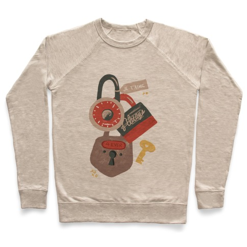 Paris Love Locks Pullover