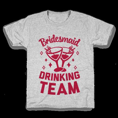 Bridesmaid Drinking Team Kids T-Shirt