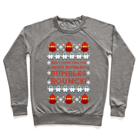Yukon Cornelius and Bumble Ugly Sweater Pullover