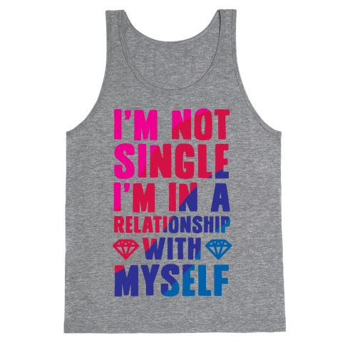 I'm Not Single, I'm in a Relationship with Myself Tank Top