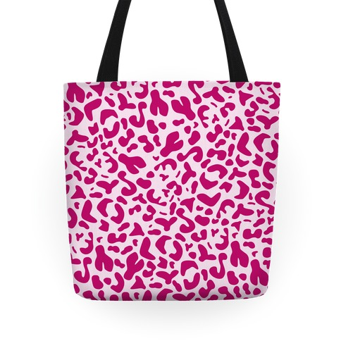 Pink Leopard Print Tote Tote