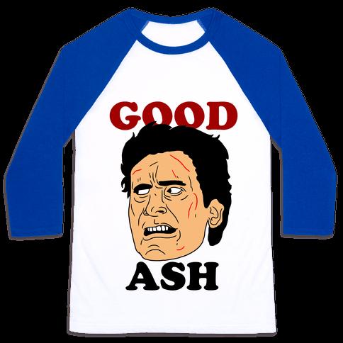 Good Ash Couples Shirt Baseball Tee