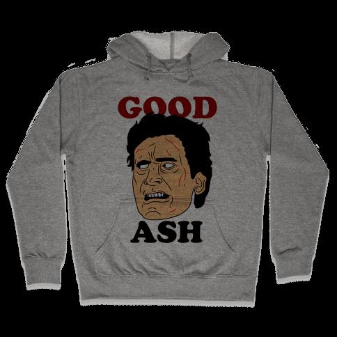 Good Ash Couples Shirt Hooded Sweatshirt
