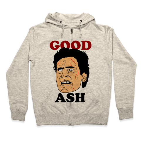 Good Ash Couples Shirt Zip Hoodie