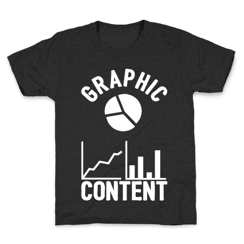 Graphic Content Kids T-Shirt