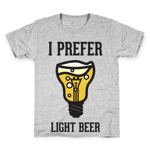 Light Beer Kids T-Shirt