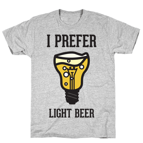 Light Beer Mens T-Shirt