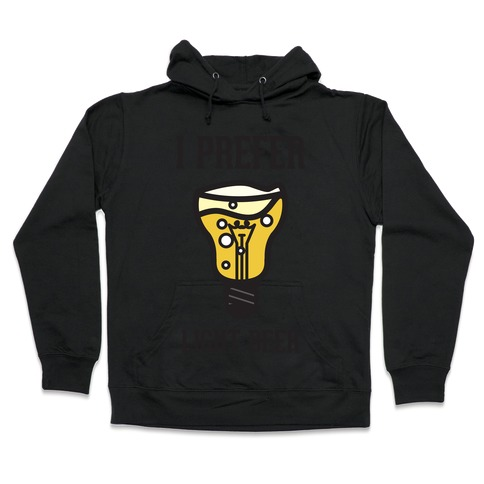 Light Beer Hooded Sweatshirt