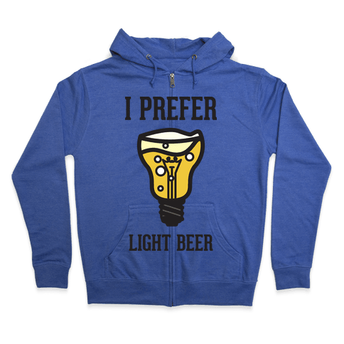 Light Beer Zip Hoodie