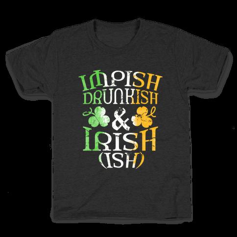 Irish ish (flag) Kids T-Shirt