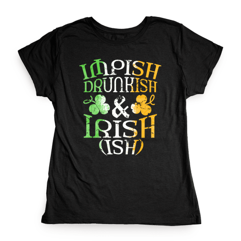 Irish ish (flag) Womens T-Shirt