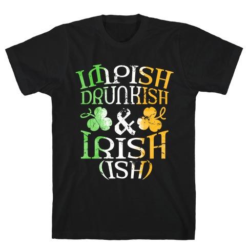 Irish ish (flag) Mens/Unisex T-Shirt