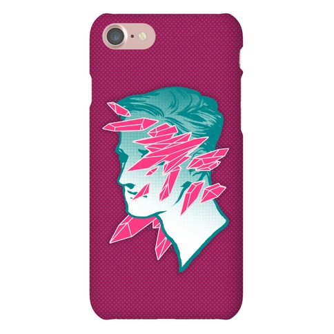 Crystal Faced Stranger Phone Case