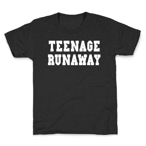 Teenage Runaway (Harry Shirt) Kids T-Shirt