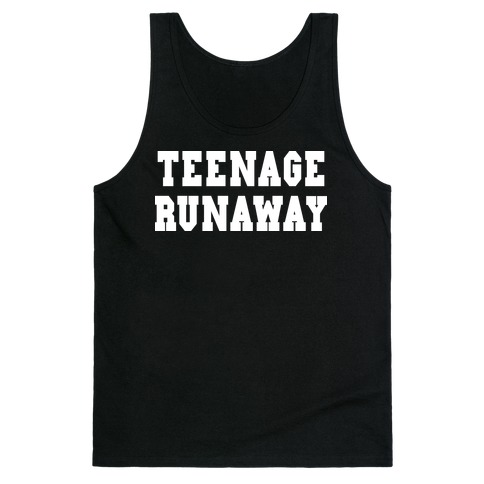 Teenage Runaway (Harry Shirt) Tank Top