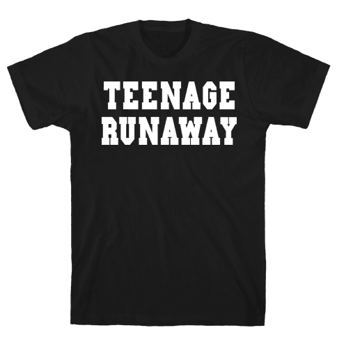 Teenage Runaway (Harry Shirt) Mens T-Shirt