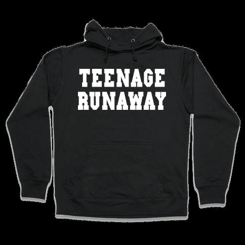 Teenage Runaway (Harry Shirt) Hooded Sweatshirt