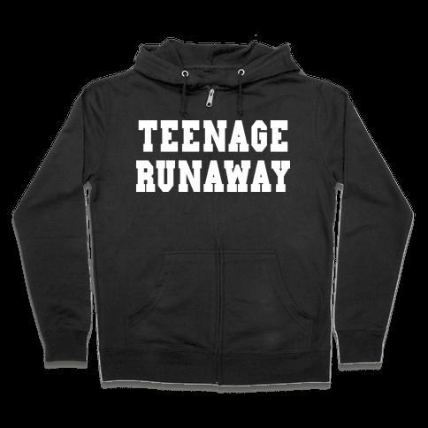 Teenage Runaway (Harry Shirt) Zip Hoodie
