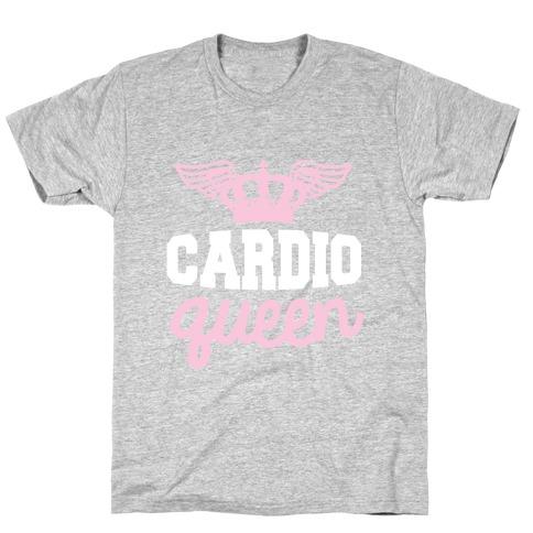 Cardio Queen Mens/Unisex T-Shirt