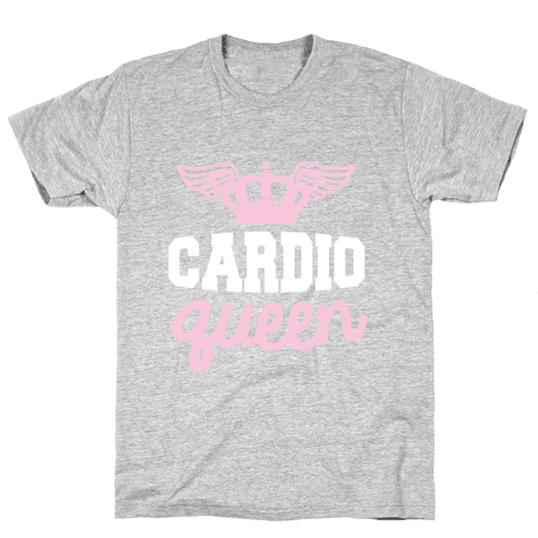 Cardio Queen Mens T-Shirt