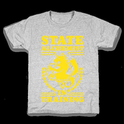 State Alchemist in Training Kids T-Shirt