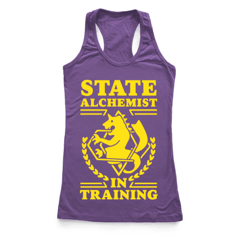 State Alchemist in Training Racerback Tank Top