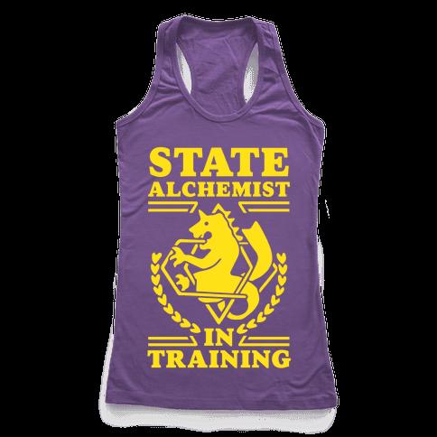 State Alchemist in Training Racerback Tank Top