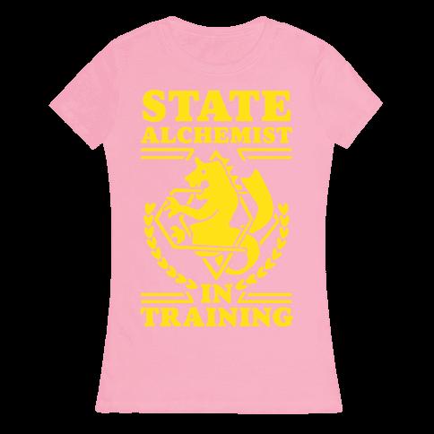 State Alchemist in Training Womens T-Shirt