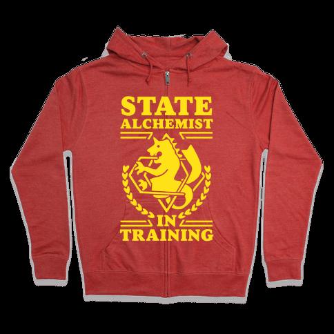 State Alchemist in Training Zip Hoodie