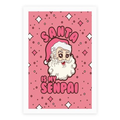 Santa is My Senpai Poster