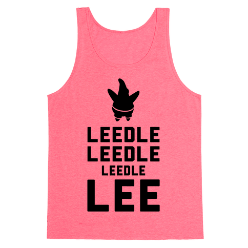 Leedle Leedle Leedle Lee (Keep Calm Patrick) Tank Top