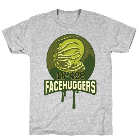 LV-426 Facehuggers Varsity Team T-Shirt