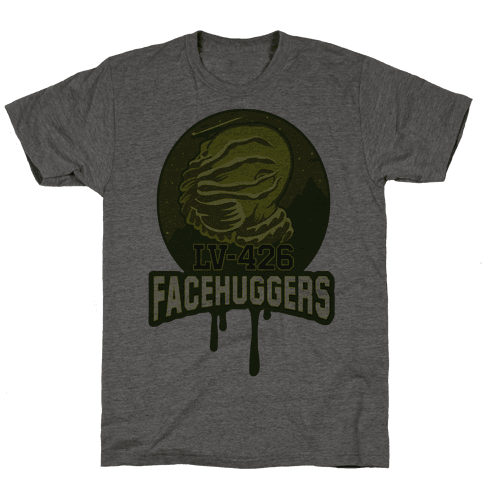 LV-426 Facehuggers Varsity Team Mens T-Shirt