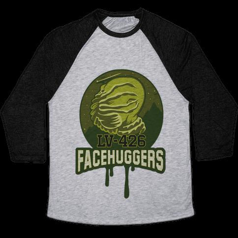 LV-426 Facehuggers Varsity Team Baseball Tee