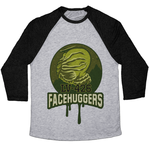 LV-426 Facehuggers Varsity Team Baseball Tee