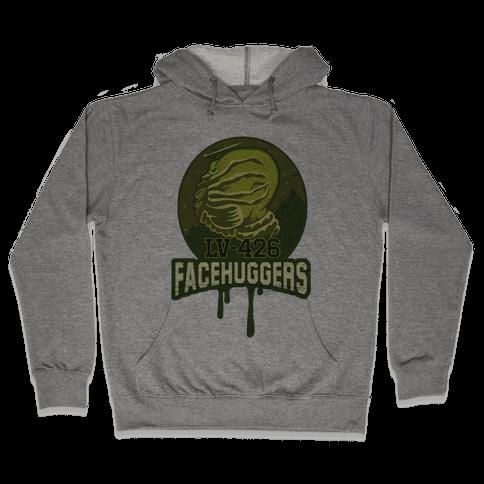 LV-426 Facehuggers Varsity Team Hooded Sweatshirt