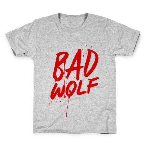 Doctor Who Bad Wolf Kids T-Shirt