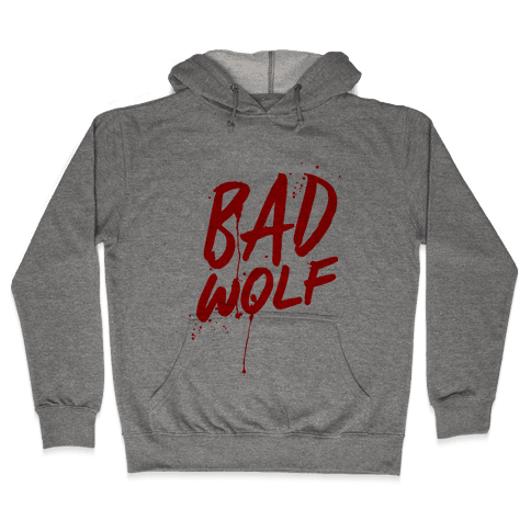 Doctor Who Bad Wolf Hooded Sweatshirt